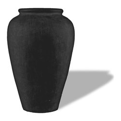 Amedeo Design, LLC - USA - Roman Oil Jar - Simple in appearance but timeless in design Amedeos Roman Oil Jar is a classic accent piece. Suitable for any environment this piece is made with our resilient ResinStone making it light weight and weathered proof. This gives our jar the durability and versatility that others just cant compare with. Made in USA.