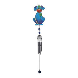 GSC - Wind Chime with Black Coated Gems Dog Hanging Garden Porch Decoration - This gorgeous Wind Chime with Black Coated Gems Dog Hanging Garden Porch Decoration has the finest details and highest quality you will find anywhere! Wind Chime with Black Coated Gems Dog Hanging Garden Porch Decoration is truly remarkable.