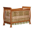 Da Vinci - Da Vinci Reagan 4-in-1 Convertible Wood Crib with Toddler Rail in Oak - Da Vinci - Cribs - M2801O - The Reagan Crib is a practical piece of DaVinci engineering. Engineered for safety and style the Reagan Convertible Crib gives you years of comfort. In a few simple conversions your crib becomes a toddler bed or a daybed. With wooden bed rails it becomes a full-sized bed! It's practical. It's approachable. It's Reagan.