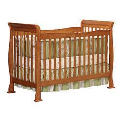 Da Vinci - Da Vinci Reagan 4-in-1 Convertible Wood Crib w/ Toddler Rail in Oak - Da Vinci - Cribs - M2801O - The Reagan Crib is a practical piece of DaVinci engineering. Engineered for safety and style the Reagan Convertible Crib gives you years of comfort. In a few simple conversions your crib becomes a toddler bed or a daybed. With wooden bed rails it becomes a full-sized bed! It's practical. It's approachable. It's Reagan.