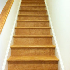 Traditional Staircase by TradeMark GC, LLC