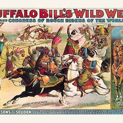 "Buyenlarge.com, Inc. - Buffalo Bill: the Real Sons of the Soudan - Paper Poster 20"" x 30"" - Another high quality vintage art reproduction by Buyenlarge. One of many rare and wonderful images brought forward in time. I hope they bring you pleasure each and every time you look at them."