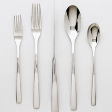modern flatware by Ginkgo International