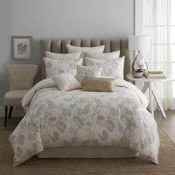Modern Living Oxidized Leaf Comforter Set