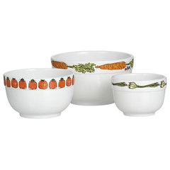 eclectic serveware by Crate&Barrel
