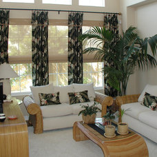 Tropical Window Treatments by Installations Etc.