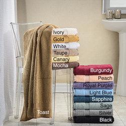 Superior Collection Luxurious Egyptian Cotton Bath Sheet (Set of 2) -