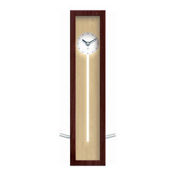 Infinity Instruments, Ltd. - Infinity Instruments High Rise Wall/Tabletop Clock, Walnut - Infinity Instruments High Rise has been in the Infinity line for over 15 years. It has become part of the Infinity Signature series. This modern / contemporary designed wall / tabletop clock has a clean look that is prefect for any décor.