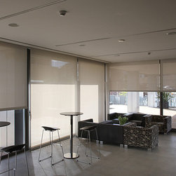 Roller Shades - The picture angle do not interfere with the elegance of our Roller Shades