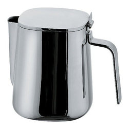 Alessi - Alessi Coffee Pot - This eye-catching coffee pot gets your eyes opening in the morning, even before enjoying what's inside the container. Rounded edges, an ergonomic handle and an inventive spout all contribute to its thoughtful design.