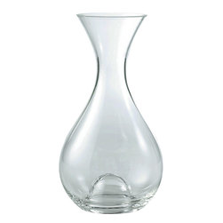 Wine Enthusiast - Wine Enthusiast U-Style Wine Decanter - All wine needs a good aeration in order to reach its fullest potential. This crystal decanter increases the oxygenation of wine while providing an inner dome to allow for easy pouring control. Your friends will be so impressed with your newfound ability to pick a perfect bottle every time.