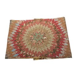 Vintage Early American Quilt - $1,200 Est. Retail - $595 on Chairish.com -