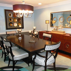 Modern Dining Room by Patty Lustig - Decor & You