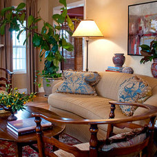 Traditional Living Room by Ciatti Design, Allied ASID