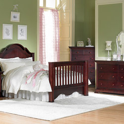 Enchanted Crib converted into Full Bed - •Enchanted is a very charming collection
