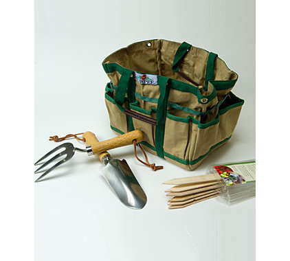 traditional gardening tools by Burpee