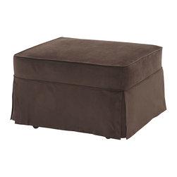 Castro Convertibles™ - Slip Cover For Castro Convertbile Sleeper Ottoman, Coffee, Twin - Additional Slip Cover for Castro Convertible  Sleeper Ottoman