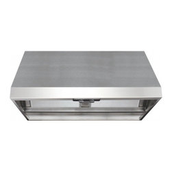 "Air King - Professional APF1836 36"" Wall Mounted/Under Cabinet Range Hood with 200/300/500 - Air King is a leader in the ventilation industry constantly introducing new and innovative products to the market The Air King Energy Star Professional Wall Mounted Range Hood 18-Inch Tall by 46-Inch Wide - Stainless Steel APF1836 provides all the fe..."