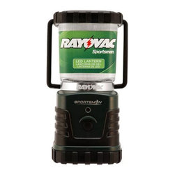 Rayovac - Rayovac SE3DLNA Sportsman LED Lantern Multicolor - RAY-SE3DLNA - Shop for Flashlights from Hayneedle.com! The Rayovac SE3DLNA Sportsman LED Lantern is great for camping trips or for storing away inside your vehicle or home in case of emergencies. It's a tough water-resistant lantern with a folding tent hanger and rubberized handle for easy portability. All it takes is three D cell batteries and you'll have enough power to light your way for up to 150 hours! Stay safe see the light! Measures 3L x 4W x 8H inches.