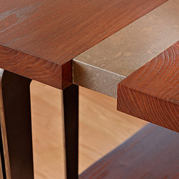 Details that Matter - Architecture can become furniture and furniture can become architecture.