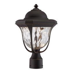 Designer Fountain - Marquette LED Post Lantern - 8.5 inches post lantern