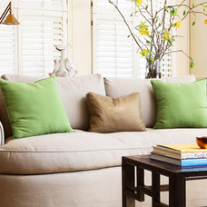 Contemporary Living Room by Heather Hilliard Design