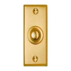 Smedbo - Smedbo Door Bell Brushed Brass - Smedbo Door Bell Brushed Brass