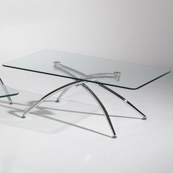 Chintaly Imports - Elaine Cocktail Table - Features: