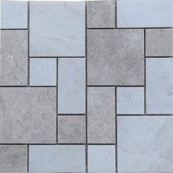 Iceberg Grey Marble Normandy Mosaic - Coverage: 1 sqf