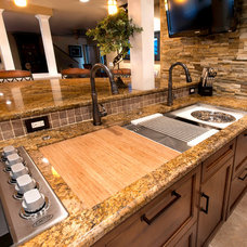 Transitional Kitchen by The Galley Collection