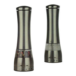 Rock Salt & Pepper Mill Set