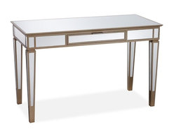 Park Mirrored Desk - I have loved the mirrored furniture trend for ages. It always reminds me of old Hollywood glamour. I particularly like the size of this desk, as it's large enough for a bit of spreading out but compact enough for slipping into a corner of a bedroom.