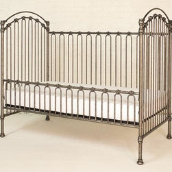 Home Decorators Collection - Venetian Toddler Conversion Kit - Convert your Venetian Crib to a toddler bed with our iron Venetian Toddler Conversion Kit. This kit allows you to replace the crib's gate with a toddler rail, extending the life of your nursery furniture. Hand-wrought iron in powder-coated, hand-distressed finish. Converts the Venetian Crib, sold separately, into a toddler bed.