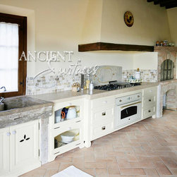 Kitchen Stone Tiles (Mediterranean Style) - Image by 'Ancient Surfaces'