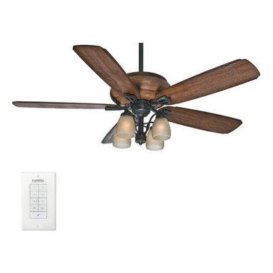 "Casablanca - Casablanca 55051 Heathridge 60"" 5 Blade Ceiling Fan - Light Kit, Blades, and Wal - Included Components:"