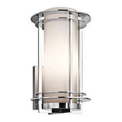 Kichler Lighting - Kichler Lighting 49346PSS316 Pacific Edge Transitional Outdoor Wall Light - Kichler Lighting 49346PSS316 Pacific Edge Transitional Outdoor Wall Light - Large In Polished Stainless Steel