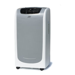 Sunpentown - 13,000 BTU Dual-Hose System Portable Air Conditioner - New 13,000 BTU Dual Hose System with Self-Evaporating Technology!