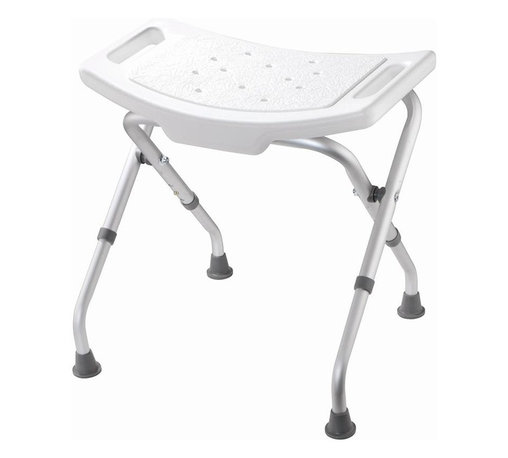 Croydex - White Adjustable Bathroom & Shower Seat - AP1 - Manufacturer SKU: AP100122YW. Adjustable Height. Built in hand holds for extra stability. Lightweight and sturdy. Folds flat when not in use. Suitable for users up to 220 lbs. 19.6 in. W x 19.5 in. L x 18.7-20.1 in. HA practical and durable Bath Safety product to make life a little bit easier. No home should be without it.