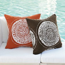 Eclectic Outdoor Cushions And Pillows by West Elm