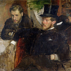 Jeantaud, Linet and Laine, 1871 | Edgar Degas | Canvas Prints - Condition: Unframed Canvas Print