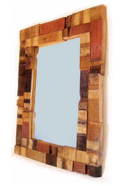 Contemporary Wall Mirrors by Etsy