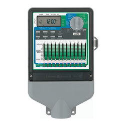 Orbit - Orbit 91022 12 Station Slide Switch 3 Program Indoor Sprinkler Timer Controller - Sprinkler systems deserve the best sprinkler timer! This is it! This 12-station Orbit 91022 sprinkler timer can help give you the greenest lawn in your neighborhood. It takes the headache out of lawn watering, and will maximize the effectiveness of your lawn sprinkler system or garden irrigation system. The Orbit 91022 sprinkler timer is affordable, effective, and installs easily. It works with all irrigation systems and sprinkler systems, including Rainbird®, Toro®, and Orbit®.Features: