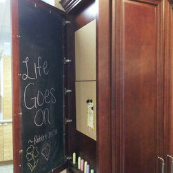 FBS SHOWROOM 512 E. Dallas Rd. Grapevine TX 76051 - Message Center on the exposed end of Super Pantry