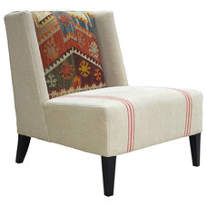 Transitional Accent Chairs by Kathy Kuo Home