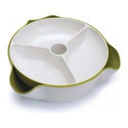 Joseph Joseph - Double Dish Large - Large Snack Bowl - Double Dish™ Large is an enhanced version of our original Double Dish™ serving bowl design.