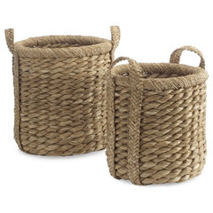 eclectic baskets by Williams-Sonoma