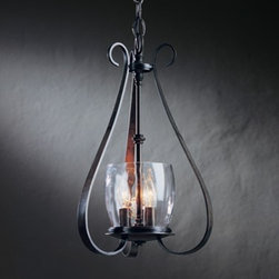 Hubbardton Forge - 101474 Sweeping Taper 3-lt Chandelier - Sweeping Taper 3-lt Chandelier