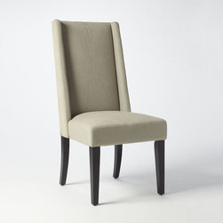 Willoughby Dining Chair - Get comfy in this tall and lean dining chair.