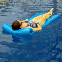 TRC Recreation L.P. - Sunsation Pool Float, Bahama Blue - Durable, soft and easy to clean