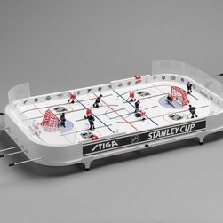 Stiga - Stanley Cup Hockey Table Game - Features: -Hockey table game.